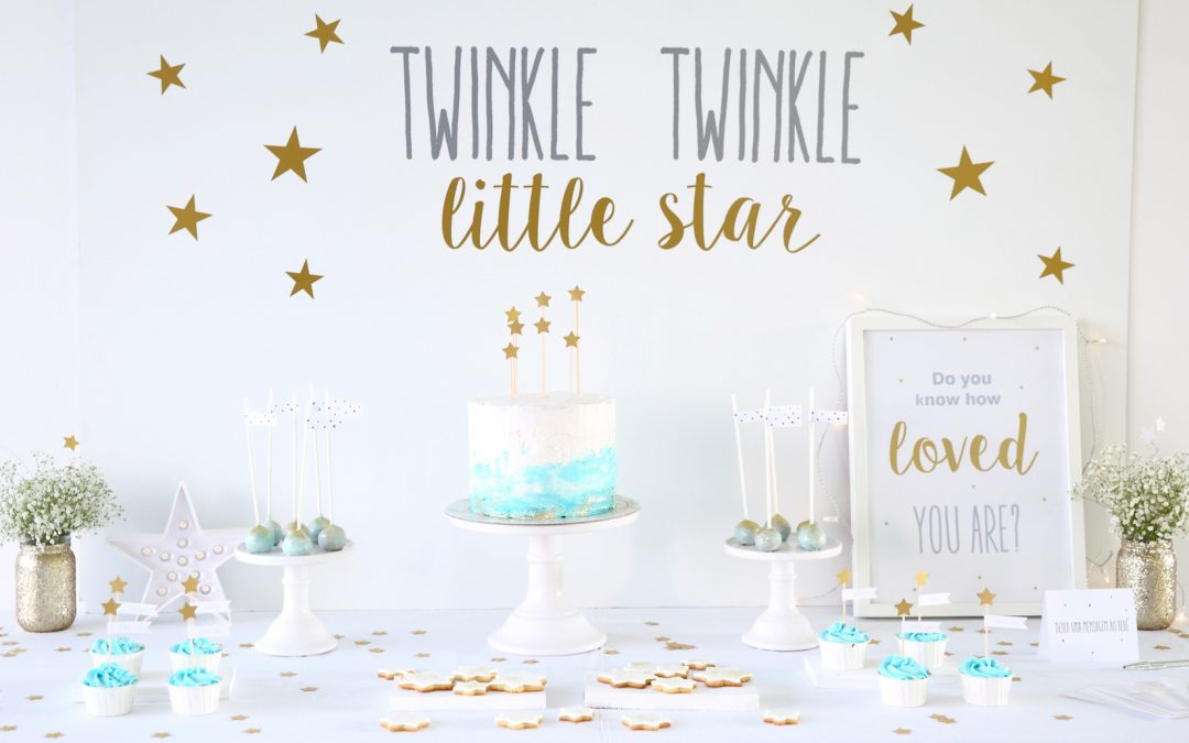 Babyshower Twinkle Twinkle Little Star