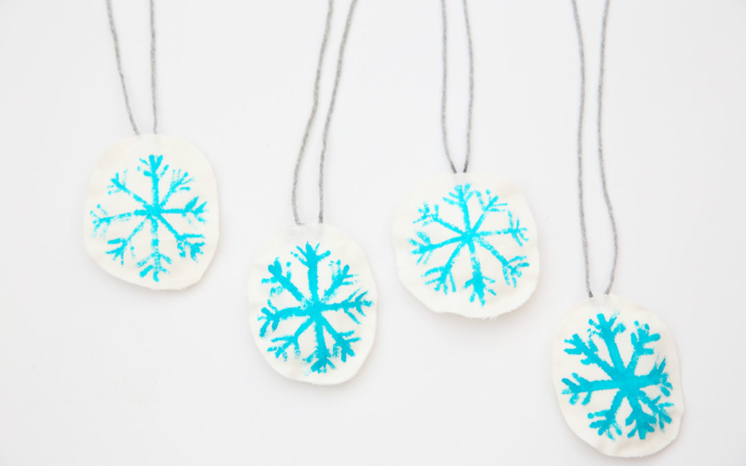 DIY – Flocos de Neve